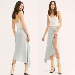Free People Lola Slit Skirt
